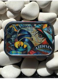 """1/6 sardine """"Ville Bleue"""" 2017"""