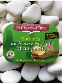 1/6 sardine au beurre-ail-persil