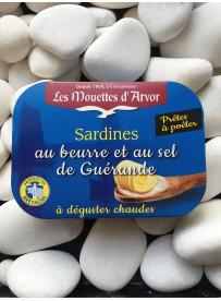 1/6 sardine au beurre