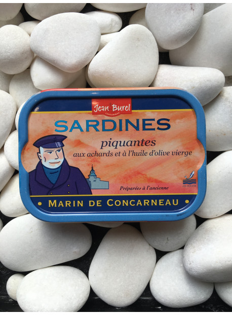 1/6 sardine piquante