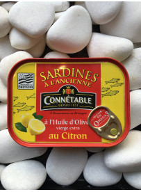 1/6 sardine citron olive