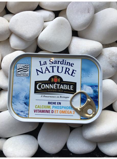 1/5 sardine nature