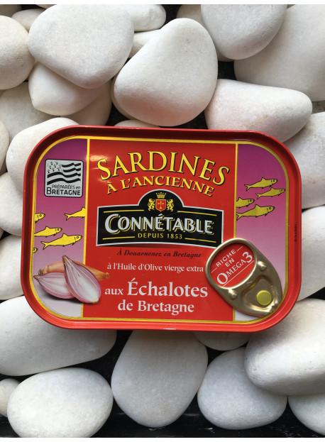 1/6 sardine aux échalotes
