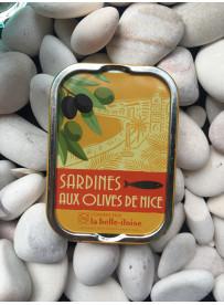 1/6 sardine olives de Nice