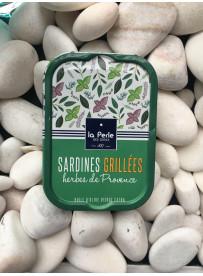 1/6 sardine grillees herbes provence