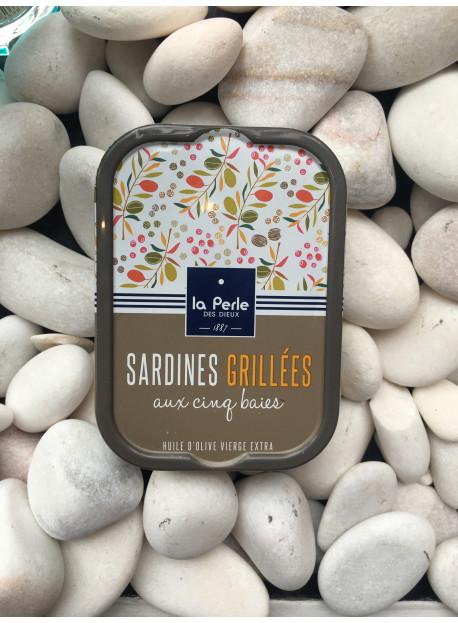 1/6 sardine grillees 5 baies