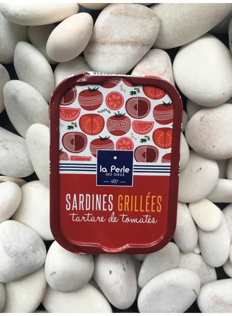 1/6 sardine grillees tartare tomates