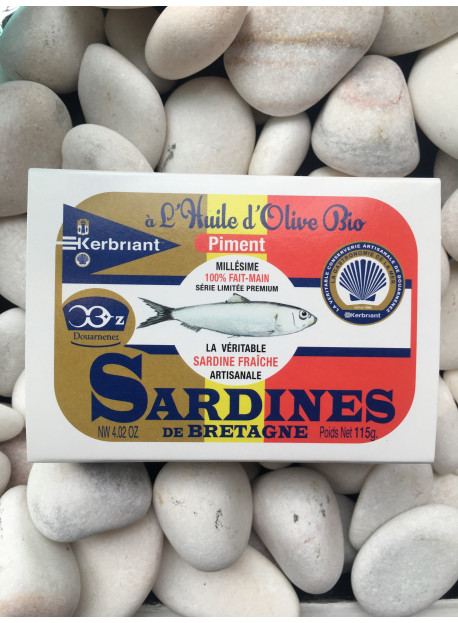 1/6 sardine piment KERBRIANT