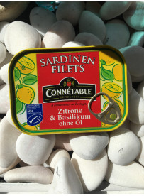 1/7 Filet sardine olive & citron