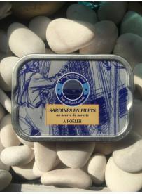 Sardines en filets au beurre à poêler