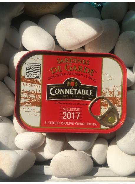 1/6 sardine de Garde millésimée 2017