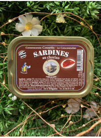 Sardine olive et chorizo