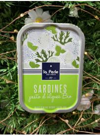 1/6 sardines au Pesto d'algues bio