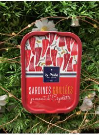 1/6 sardine grillees piment espelette