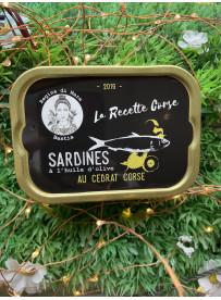Sardines Cédrat Corse
