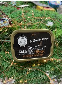 Sardines Safran Bio Corse