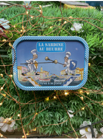 Sardines La Bonne Mer au beurre et fleur de sel