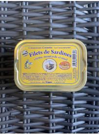 Filets de sard moutarde & miel