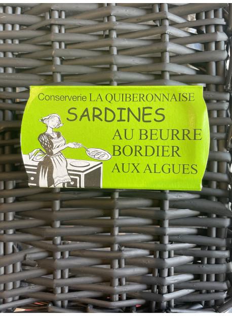 1/6 sardine bordier ALGUES