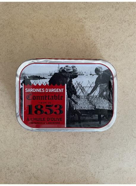 Sardines d'argent Connétable depuis 1853