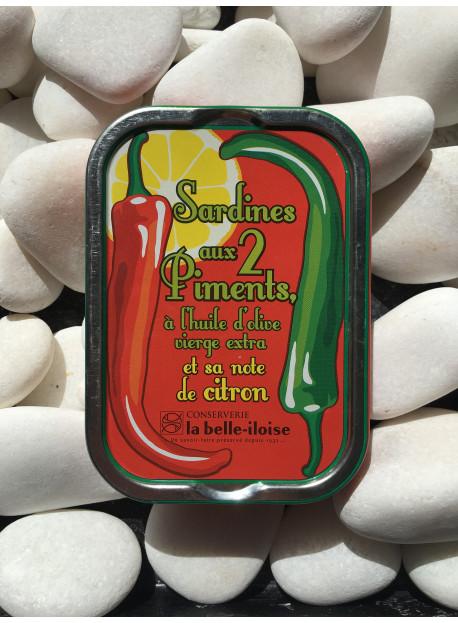 1/6 sardine aux 2 piments