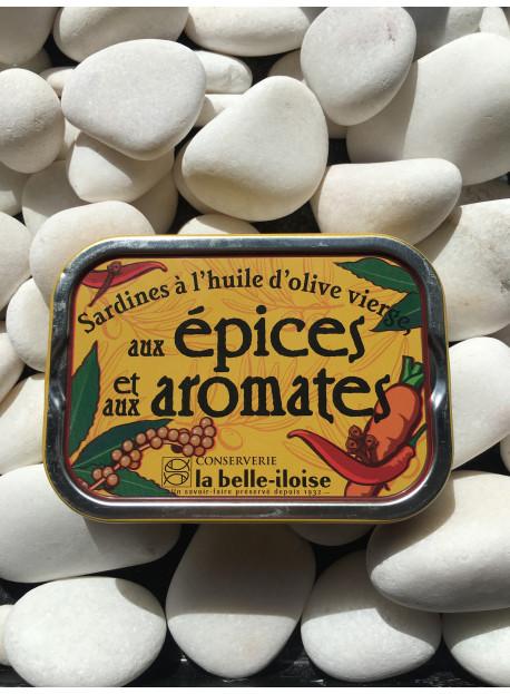 1/6 sardine olive aromates