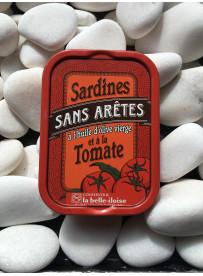1/6 sardine sans arêtes tomate