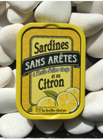 1/6 sardine sans arêtes citron