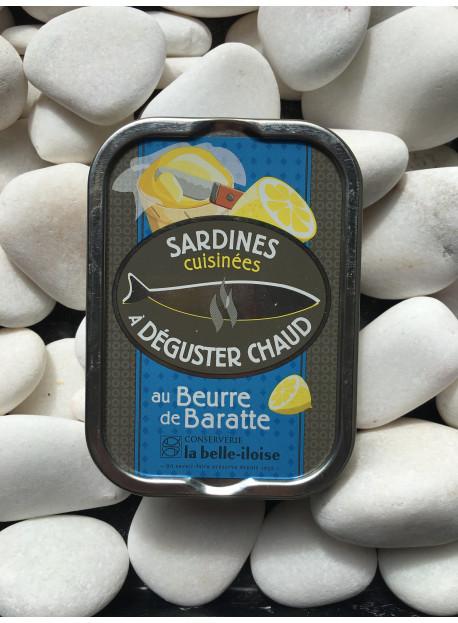 1/6 sardine cuisinées au beurre