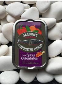 1/6 sardine cuisinées épices orientales