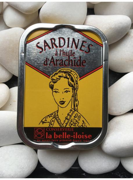 1/6 sardine arachide