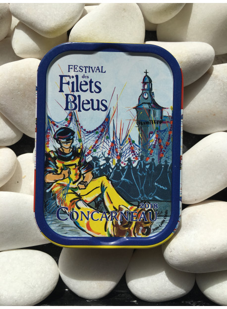 "1/6 sardine ""Filets Bleus 2018"""
