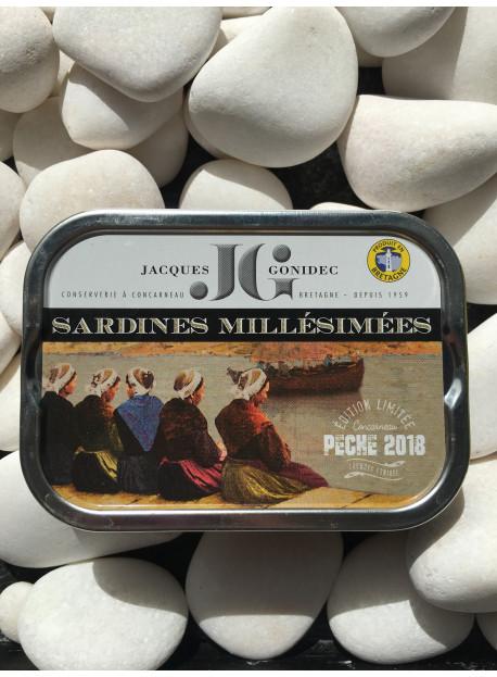 1/6 sardine JG millesime 2018 bio