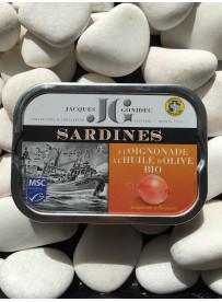 1/6 sardine JG olive oignonade bio
