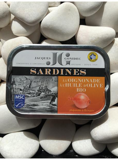 1/6 sard JG olive oignonade bio