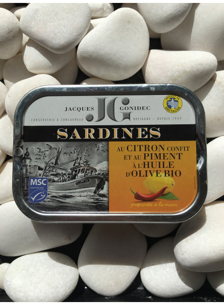 1/6 sard JG citron confit piment bio